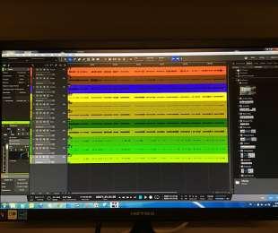 Mixing für eine musikalische Visitenkarte